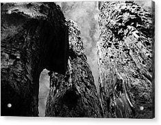 Tide Poles Acrylic Print