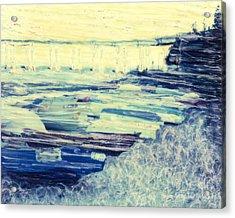 Tideland Boats Acrylic Print
