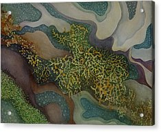 Tidepool Textures Acrylic Print