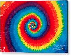 Tie Dye Acrylic Print