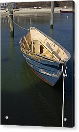 Tied Down From The Storm  Acrylic Print by Eugene Bergeron