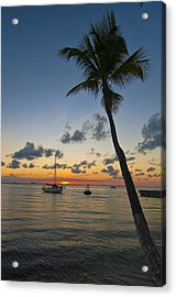 Tied Up At Sunset Acrylic Print