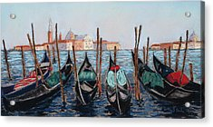 Tied Up In Venice Acrylic Print