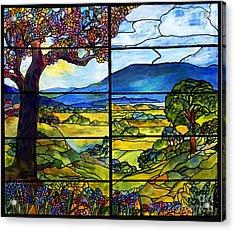 Tiffany Minnie Proctor Window Acrylic Print