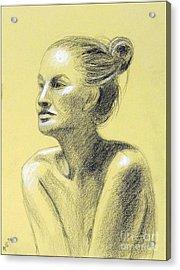 Tiffany Portrait Acrylic Print