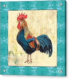 Tiffany Rooster 2 Acrylic Print
