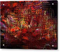 Tiger Glass Acrylic Print