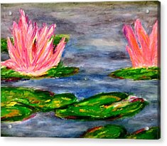 Tiger Lillies Acrylic Print
