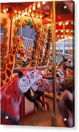 Tigers And Giraffes Oh My Acrylic Print by Scott Campbell