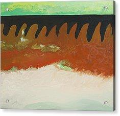 Tigers Hide Acrylic Print by Joseph Demaree