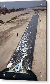 Tijuana River Acrylic Print by Jim West