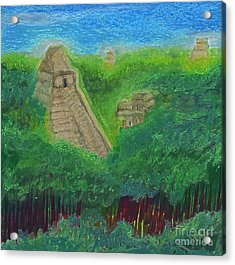 Tikal 2 By Jrr Acrylic Print by First Star Art