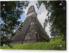 Tikal Pyramid 1b Acrylic Print