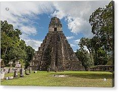 Tikal Pyramid 1j Acrylic Print