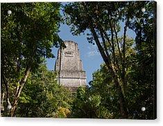 Tikal Pyramid 4b Acrylic Print