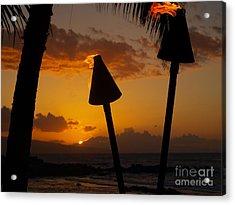 Tiki Time In Maui Acrylic Print