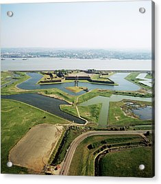 Tilbury Fort Acrylic Print by Skyscan/science Photo Library