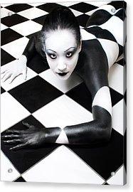 Tile Tales 3 Acrylic Print