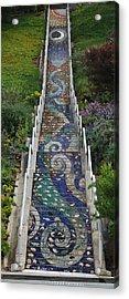 Tiled Steps Acrylic Print