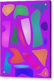 Tiles Acrylic Print by Masaaki Kimura