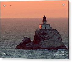 Tillamook Rock Lighthouse Acrylic Print by Chris Anderson