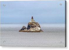 Acrylic Print featuring the photograph Tillimook Lighthead by Dennis Bucklin