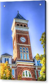 Tillman Clock Tower Acrylic Print