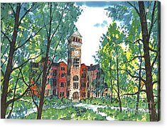Tillman Hall Two Clemson Acrylic Print