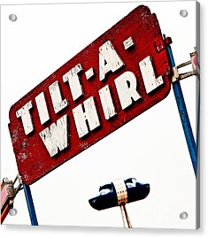 Tilt-a-whirl Acrylic Print by Pattie Calfy