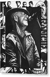 Tim Armstrong Acrylic Print by Steve Hunter