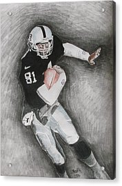 Tim Brown Acrylic Print by Jeremy Moore