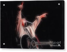 Tim Mcgraw Ga22 - Fractal Acrylic Print by Gary Gingrich Galleries
