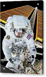 Tim Peake's Spacewalk Acrylic Print