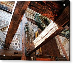 Timbers And Lamp Acrylic Print by Don Barnes