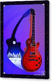 Magic To The World... Music To The World .1 Acrylic Print by Gem S Visionary