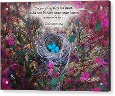 Time And Season Acrylic Print