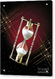 Time And Space Acrylic Print by Gary Gingrich Galleries