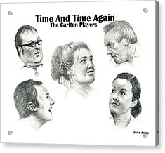 Time And Time Again Acrylic Print by Steve Jones