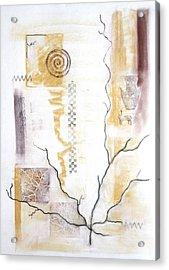 Time Branching Acrylic Print by Diana Perfect
