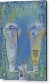 Time Expired Acrylic Print by David Simons
