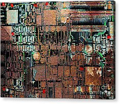 Time For A Motherboard Upgrade 20130716 Acrylic Print by Wingsdomain Art and Photography
