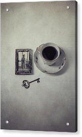 Time For Coffee Acrylic Print by Joana Kruse