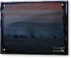 Time For Grazing Acrylic Print