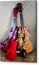 Time For Hula Acrylic Print by Mary Deal
