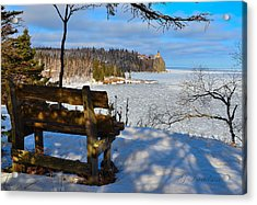 Acrylic Print featuring the photograph Time For Pause by Gregory Israelson