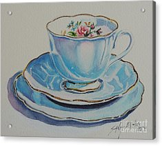 Time For Tea Sold Acrylic Print