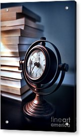 Time Acrylic Print by HD Connelly