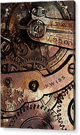 Time In Abstract 20130605rust Acrylic Print by Wingsdomain Art and Photography