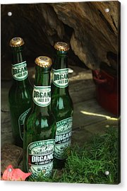 Acrylic Print featuring the photograph Time In Bottles by Rachel Mirror
