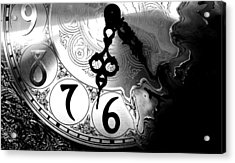Time Is An Illusion Acrylic Print
